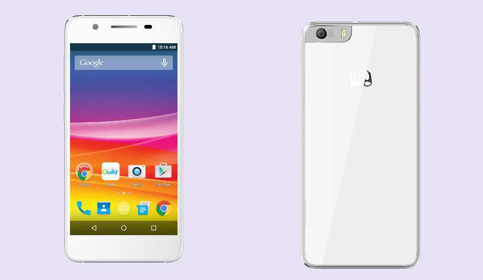 Micromax Canvas Knight 2 with 4G, octa core CPU launched