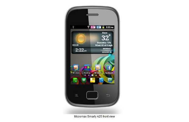 Micromax's Android phone with 1Ghz chip launched