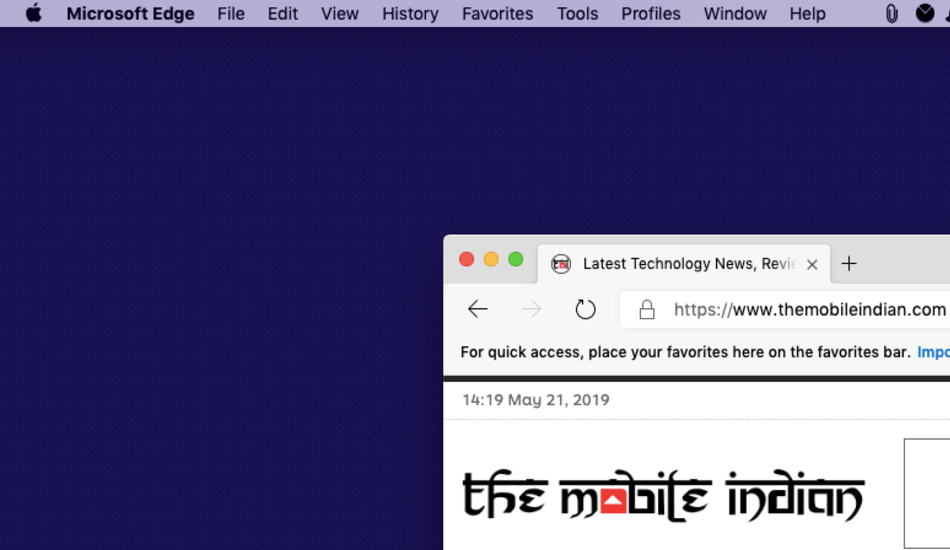 Microsoft rolls out Chromium-enabled Edge Browser on macOS