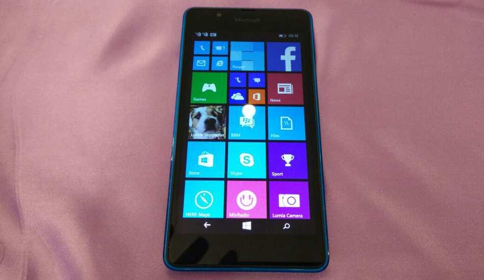 Microsoft Lumia 540 Dual SIM in pics