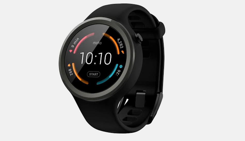 Moto 360 Sport launched in India at Rs 19,999