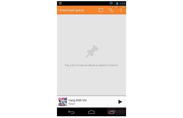 Google Play Music app update brings Radio, Download queue