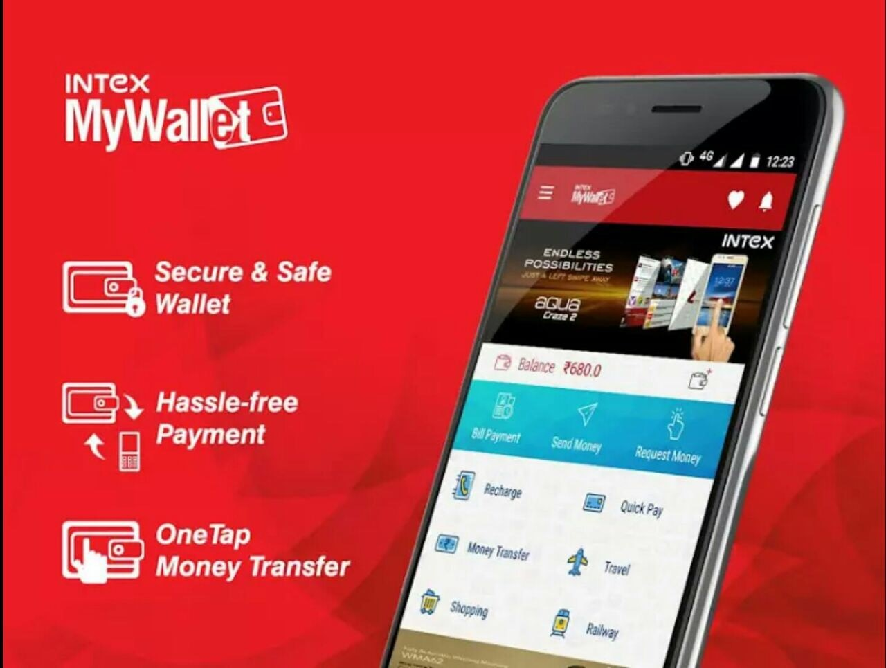 Intex MyWallet app is now available on Google Play
