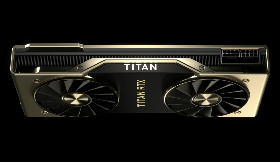NVIDIA Titan RTX flagship desktop GPU announced with 24GB GDDR6 memory