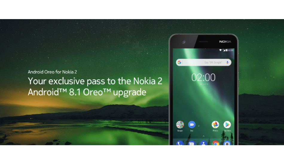 Nokia 2 gets Android 8.1 Oreo but you have to request it manually