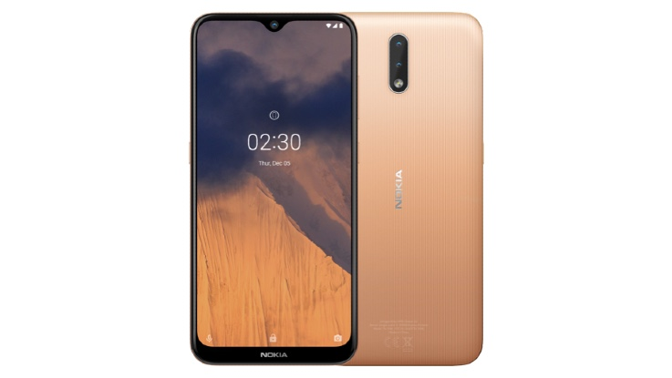 Nokia 2.3 starts receiving Android 10 update