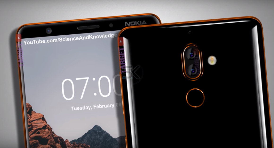 Nokia 7 Plus renders leaked, shows thin bezels and dual rear cameras