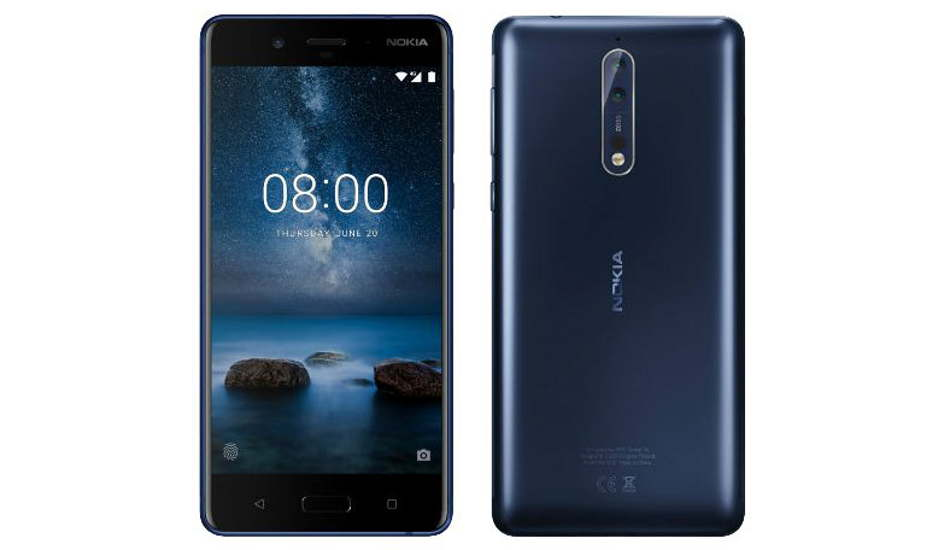 Nokia 8 Sirocco in pictures