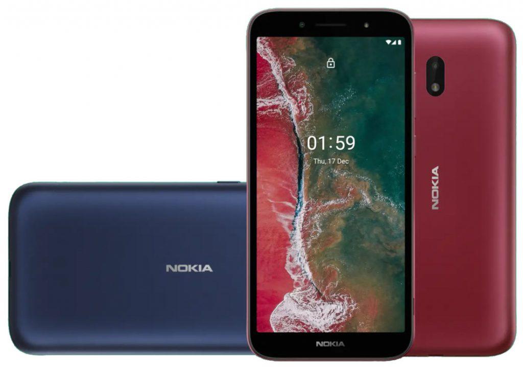 Nokia C1 Plus Android 10 Go Edition smartphone announced