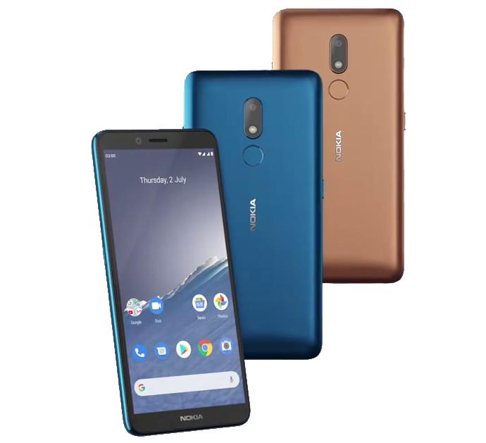 Nokia C3 smartphone, Nokia 150 and Nokia 125 feature phones launched in India