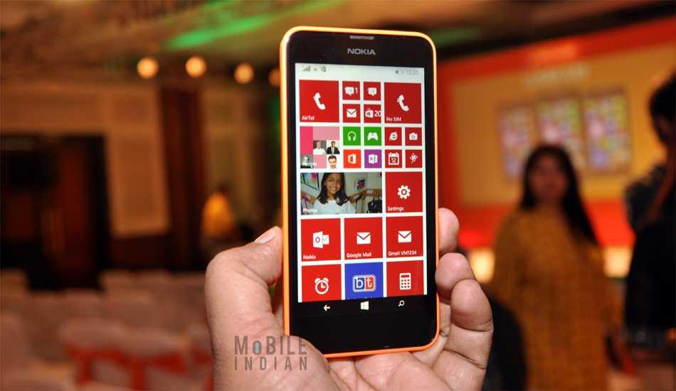 Nokia Lumia 630 in pictures