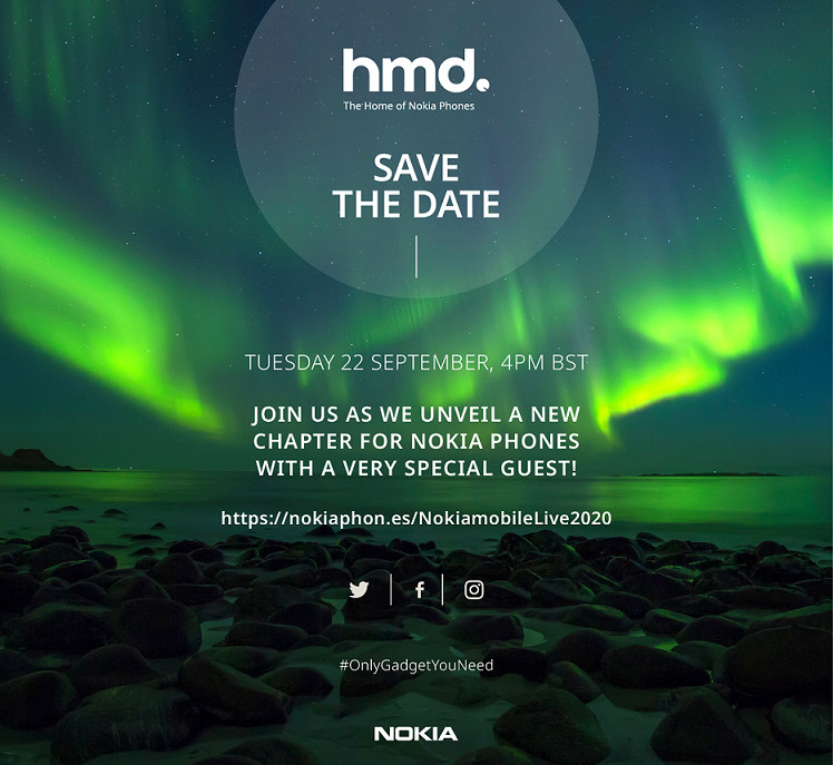 HMD Global schedules an event on September 22, Nokia 3.4 and Nokia 2.4 expected