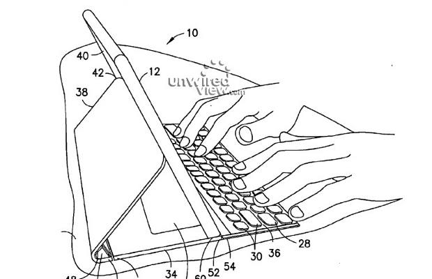 Nokia Patent reveals a tablet with attached keyboard, cover