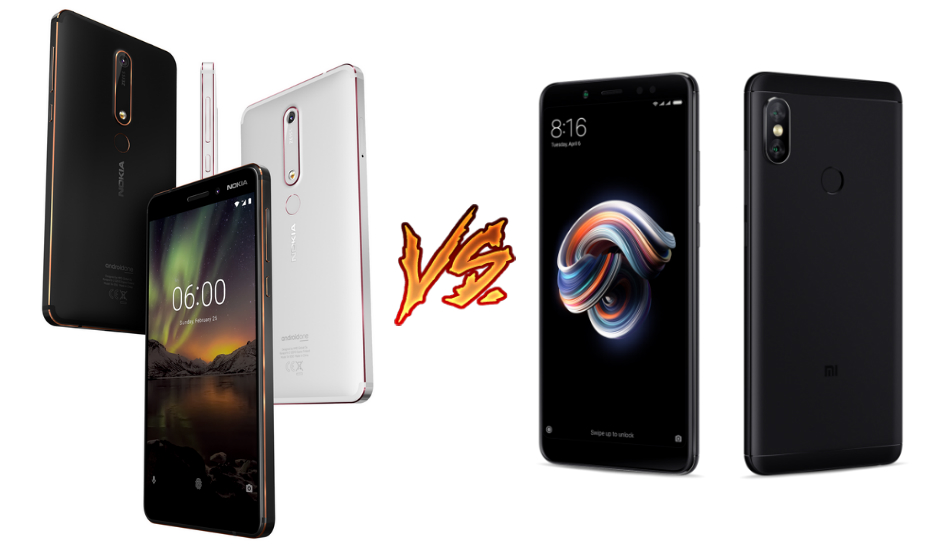 Battle of Budget Powerhouses: Nokia 6 (2018) vs Redmi Note 5 Pro