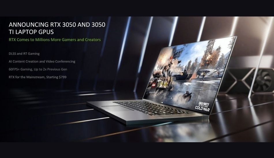 Nvidia GeForce RTX 3050, RTX 3050 Ti Gaming GPUs for laptops launched with DLSS, Ray-Tracing features