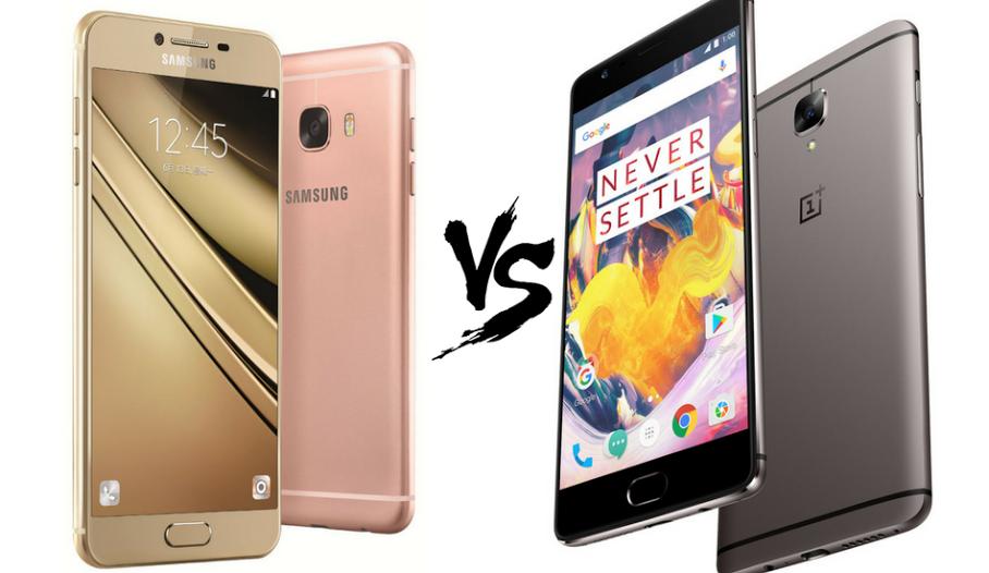 Samsung Galaxy C9 Pro vs OnePlus 3T (128GB)