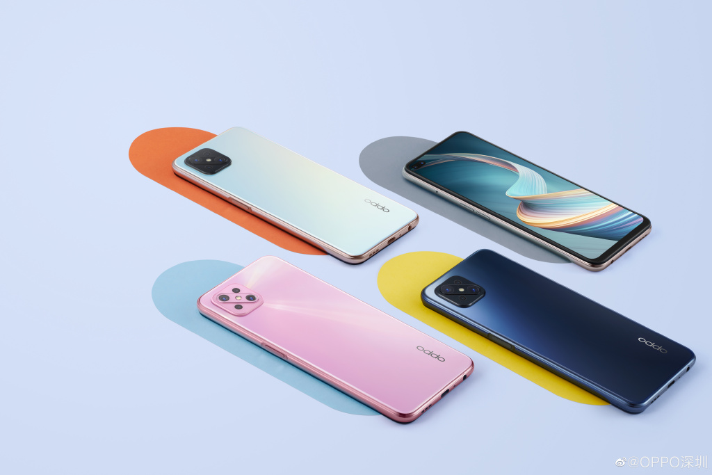 Oppo A92s official renders reveal design and colour options
