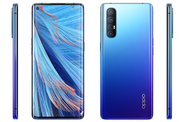 Oppo Find X2 Neo leaked renders show qaud rear cameras and colour variants