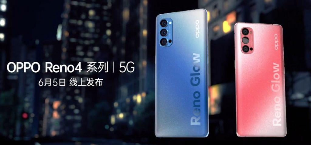 Oppo Reno 4, Oppo Reno 4 Pro 5G smartphones to be announced on June 5