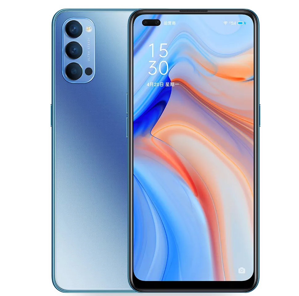 Oppo Reno 4 Pro Galactic Blue Edition goes on sale today