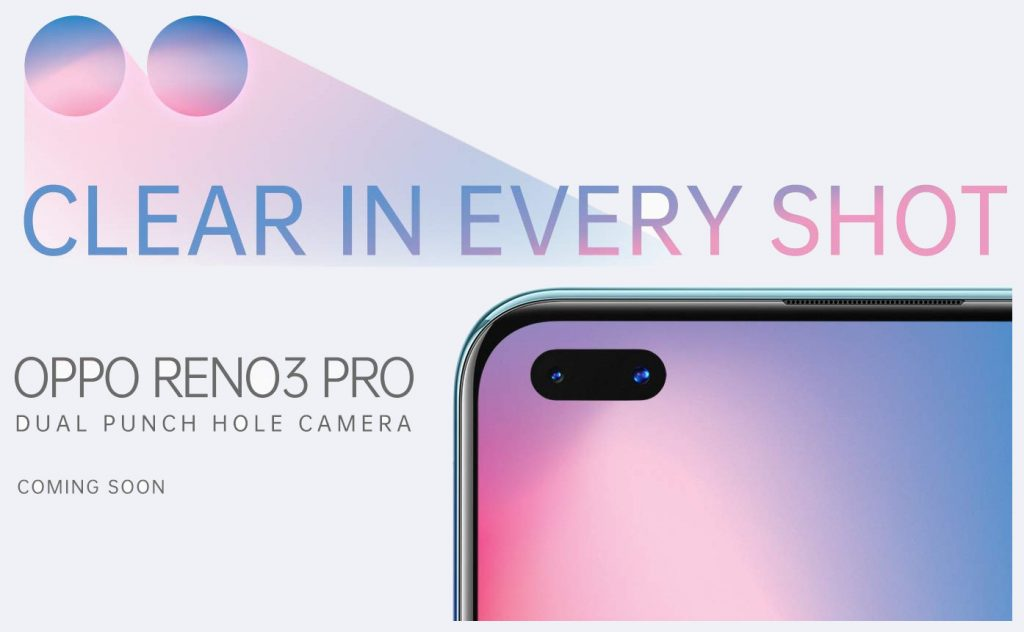 Oppo Reno 3 Pro teased ahead of launch in India