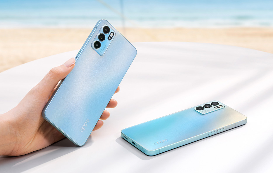 Oppo Reno 6 renders surface ahead of launch on May 27