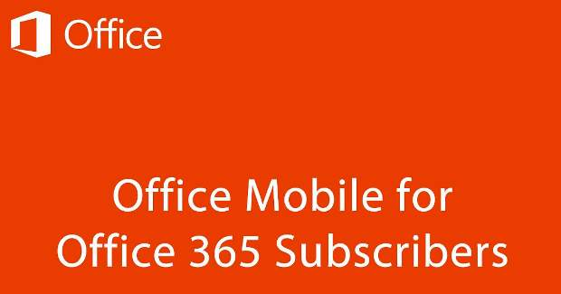 Microsoft launches Office 365 for Android devices
