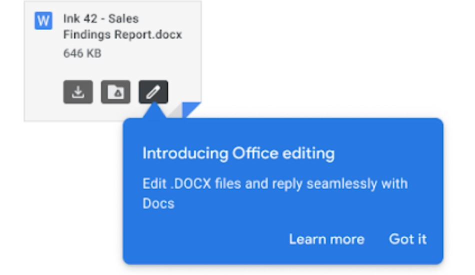 Google introduces Office Editing