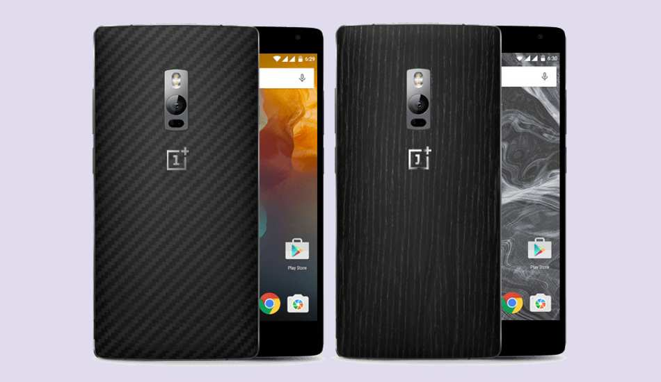 OnePlus 2 Kevlar, Bamboo, Black Apricot and Rosewood StyleSwap covers launched in India