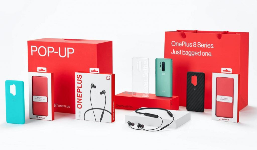 OnePlus 8 and OnePlus 8 Pro Pop-up Box price in India start at Rs 45,999