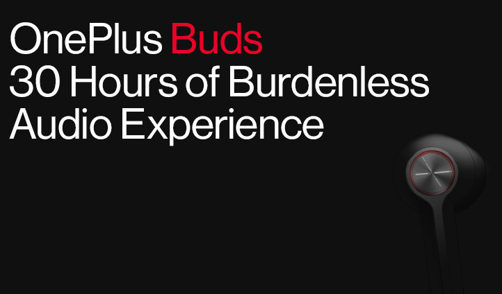 OnePlus Buds confirmed to feature up to 30 hours of battery life ahead of launch on July 21