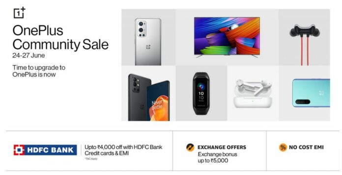 OnePlus Community Sale on Amazon: Discounts on OnePlus 9 Series, OnePlus Nord CE, Smart TVs and accessories