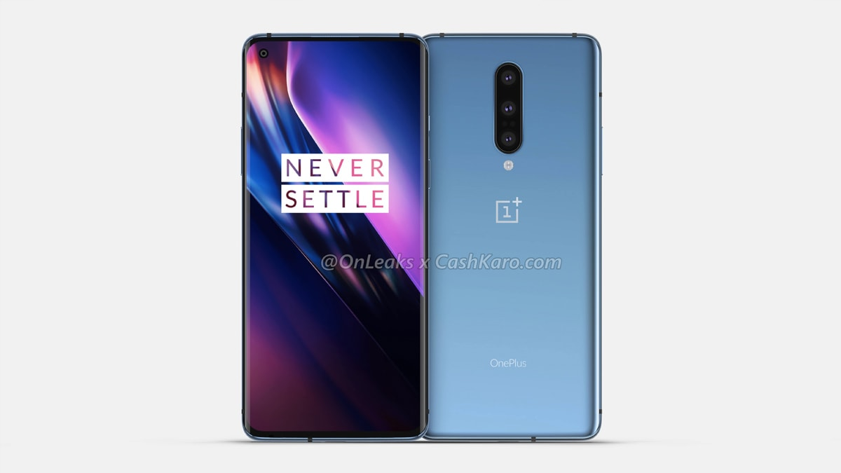 OnePlus 8 Pro render and key specs leaked