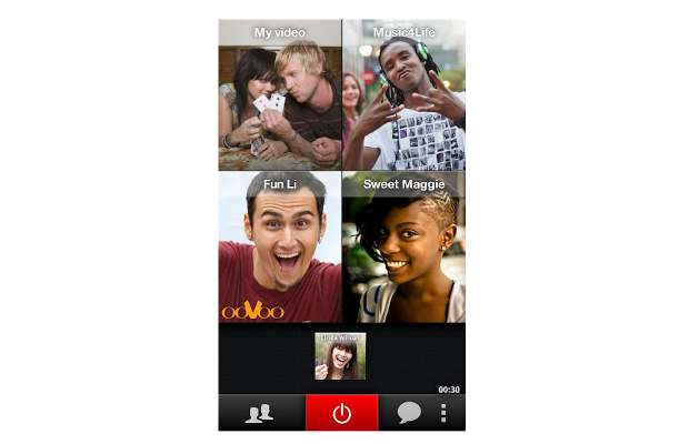 Oovoo apps for iOS and Android get group chat support