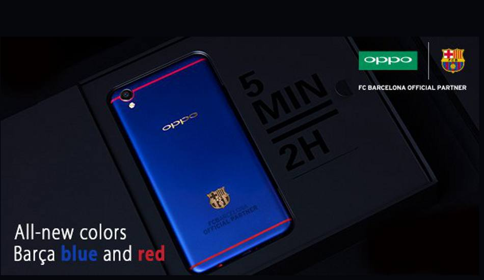 Oppo F1 Plus FC Barcelona Edition unveiled