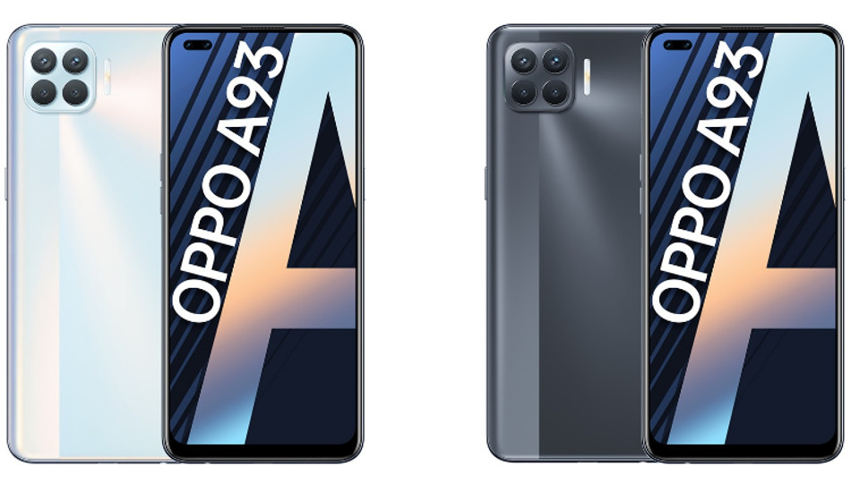 Oppo A93 announced with MediaTek Helio P95 SoC, 48MP Quad Cameras