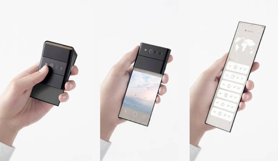 Oppo reveals a unique triple-fold phone concept