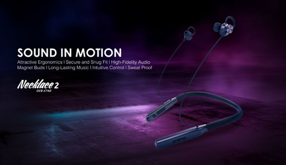 Oraimo Necklace 2 earphones launched for Rs 1799