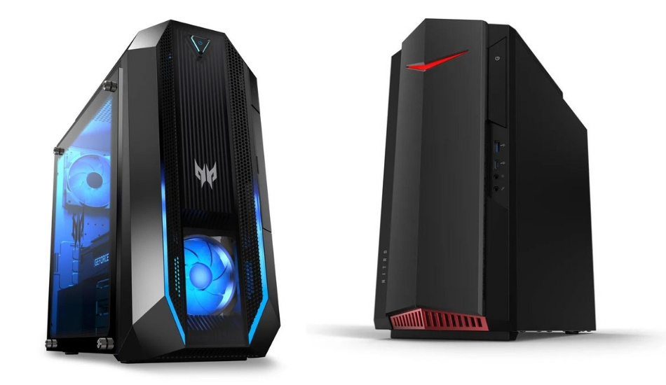 Acer Predator Orion 3000, Nitro 50 Gaming rigs refreshed, three new monitors launched