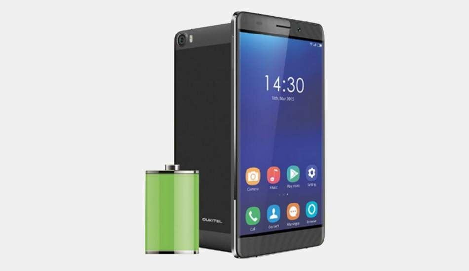 Oukitel K6000 with huge 6000 mAh battery unveiled