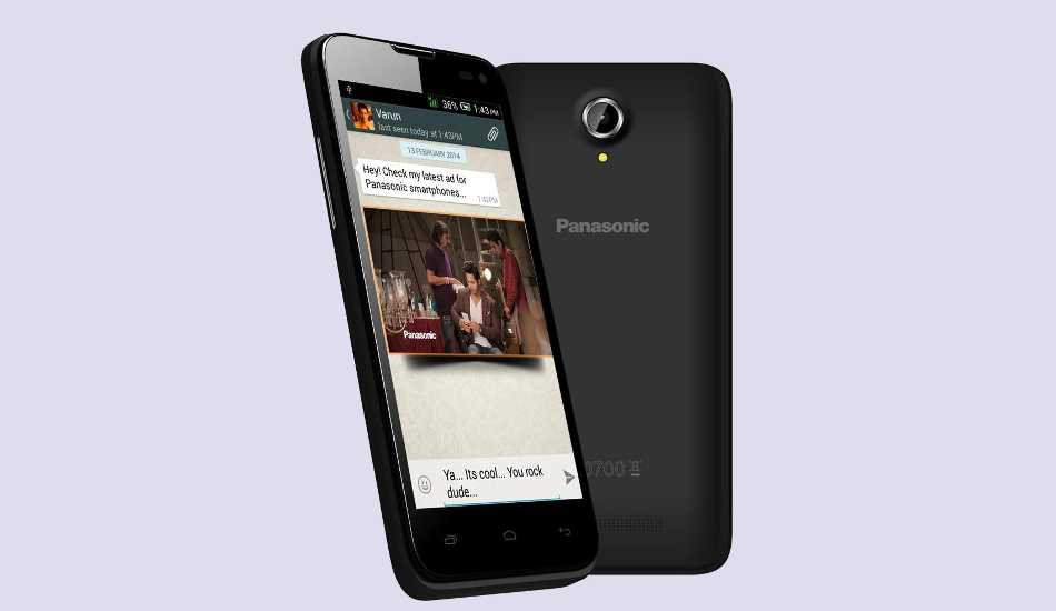 Panasonic T41, P41 and P61 with Android 4.4 KitKat launched