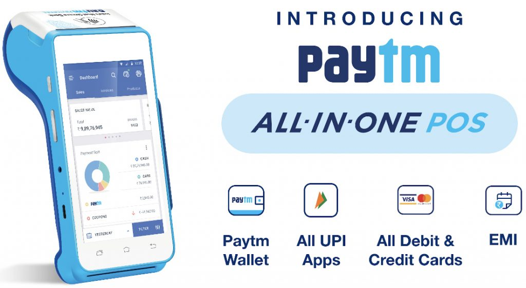 Paytm launches All-in-One Android POS for small businesses and merchant partners