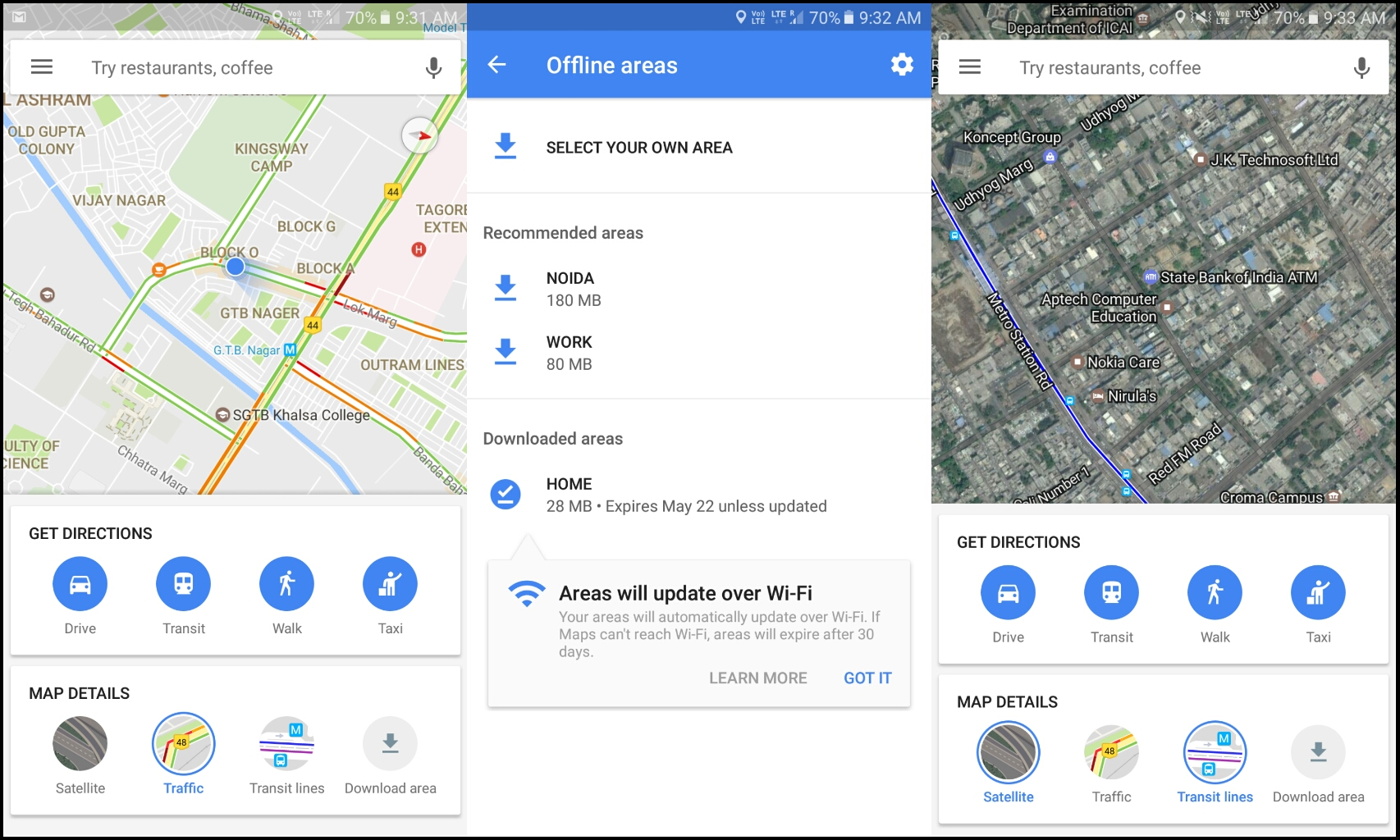 Google Maps for India are now better and faster