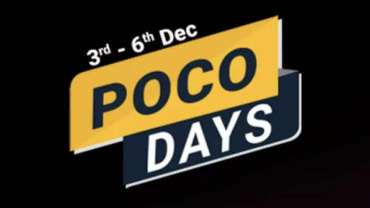 Four  Poco phones selling at discounted rates