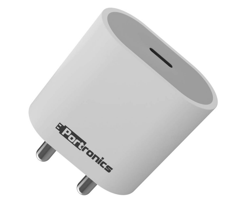 Portronics 'Adapto 20' 20W Fast charging Adaptor launched at an introductory price of Rs 699