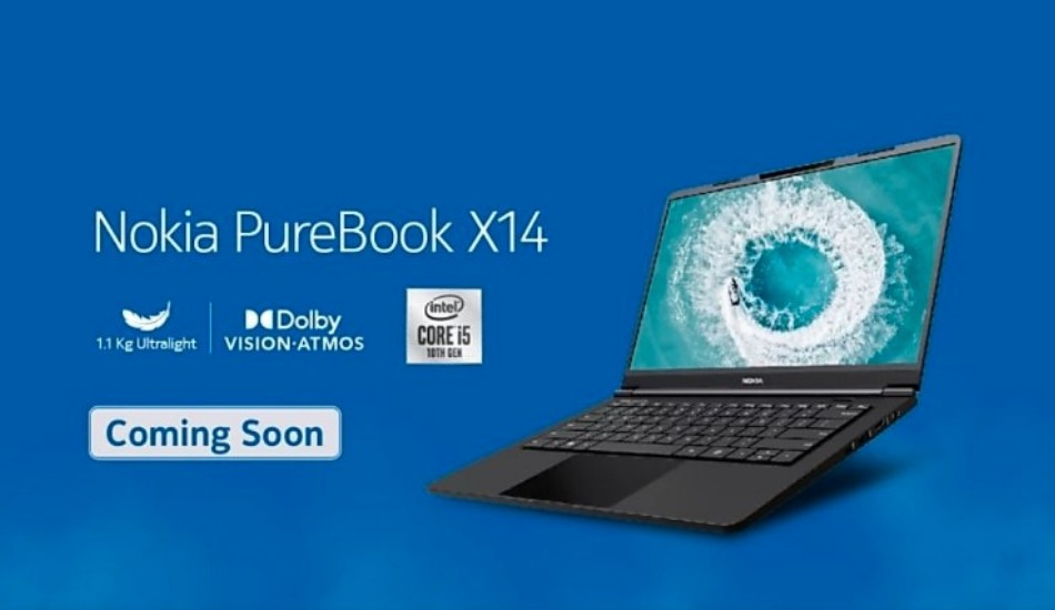 Nokia Purebook X14 teased ahead of India launch