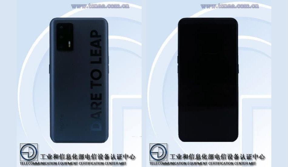 Possible Realme 8i spotted