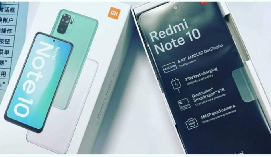 Redmi Note 10 to feature super-macro lens, retail box leaked