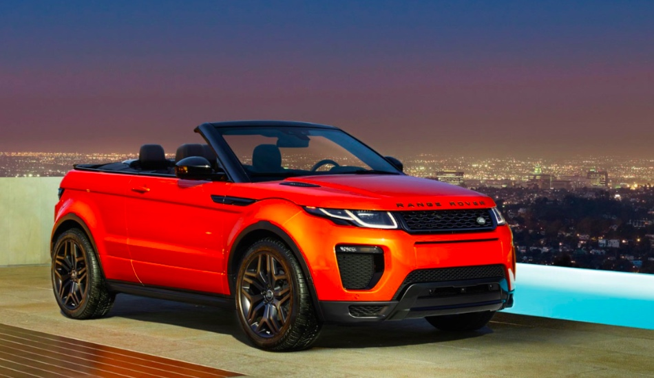 Convertible Range Rover Evoque launched in India at Rs 69.53 lakh