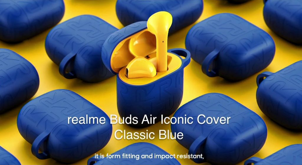 Realme Buds Air Iconic Cover and 1000mAh Power Bank in Classic Blue launched in India